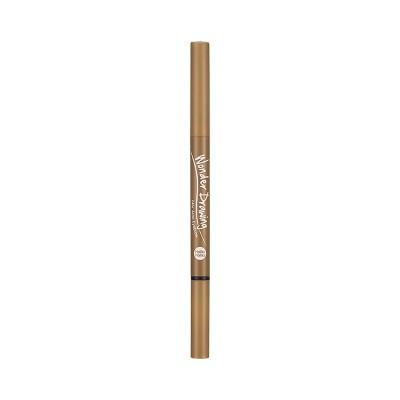 Автоматический карандаш для бровей с щеточкой Wonder Drawing 24hr Auto Eyebrow Holika Holika, тон 03, светло-коричневый