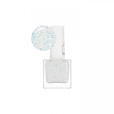 Лак для ногтей Piece Matching Nails Sparkling Holika Holika, тон WH02, бело-голубой: фото