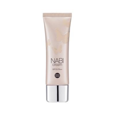 База для макияжа увлажняющая Nabi Cream SPF25 PA++ Holika Holika, бежевая: фото