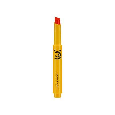 Тинт для губ Gudetama Melting Lip Button Holika Holika, тон OR02, апельсиновый мармелад: фото