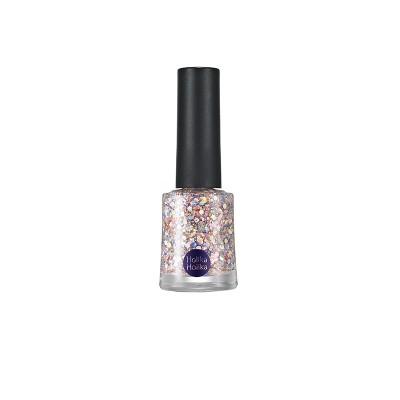 Лак для ногтей Glitter Nails Holika Holika, тон GT05, серебряный: фото