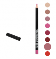 Карандаш для губ Shape&Colour Lipliner Pencil Long Lasting Affect Wild Rose: фото