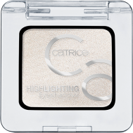 Тени для век Highlighting Eyeshadows Сatrice 010 белый: фото
