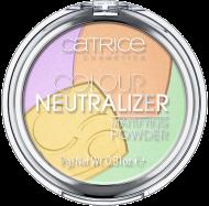 Компактная пудра Мультиколор Colour Neutralizer Mattifying Powder Сatrice010: фото