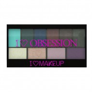 Палетка теней I Heart Makeup Obsession Palette Makeup Revolution Wild is the Wind: фото