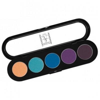 Палитра теней Make-Up Atelier Paris T21 5 цветов тропические тона: фото