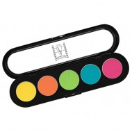 Палитра теней Make-Up Atelier Paris T23 5 цветов лимонно-кислотные тона: фото