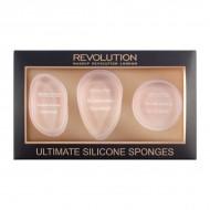 Набор силиконовых спонжей Makeup Revolution Ultimate Silicone Sponge Set: фото