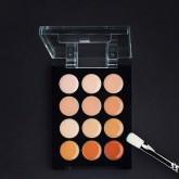 Корректор-антисерн восковой Make-Up Atelier Paris P12C/A, универсальная палитра
