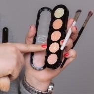 Корректор восковой антисерн Make-Up Atelier Paris C/APC2 палитра 5 цветов абрикосовая 10 гр: фото