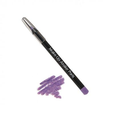 Карандаш для глаз перламутровый Make-Up Atelier Paris C14 фиолетовый: фото