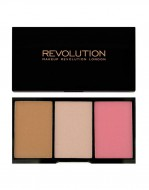 Палетка для макияжа Makeup Revolution Iconic Blush, Bronze & Brighten Smoulder: фото
