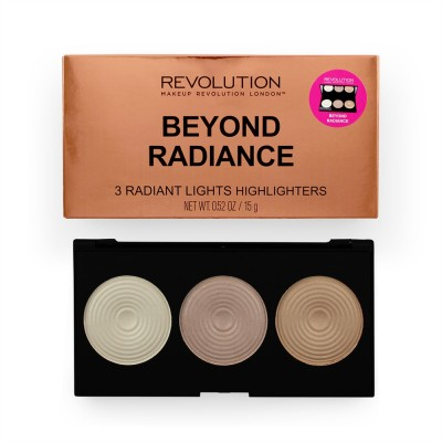 Палетка хайлайтеров Makeup Revolution Highlighter Palette Beyond Radiance