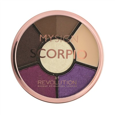 Палетка для макияжа глаз Makeup Revolution My Sign Complete Eye Base Scorpio: фото