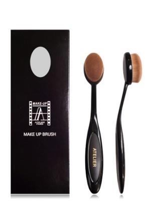 Кисть-щетка полирующая Make-Up Atelier Paris 100S (для нанесения жирных текстур, синтетика): фото