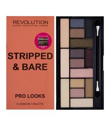 Палетка теней Makeup Revolution Pro Looks Palette Stripped & Bare: фото