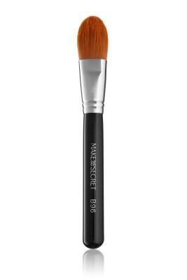 Кисть для нанесения тонального крема и основы под макияж MAKE-UP-SECRET B96: фото