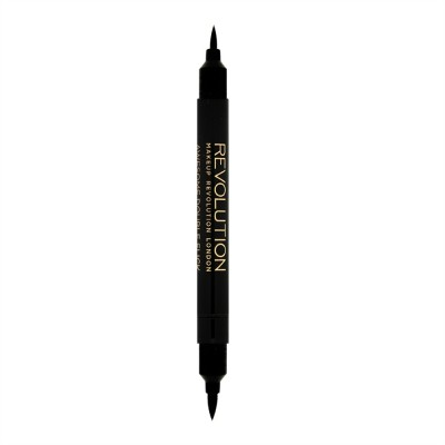 Подводка для глаз MakeUp Revolution Awesome Double Flick Thick and Thin: фото