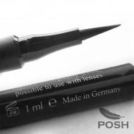 Подводка-фломастер водостойкая POSH (черная): фото