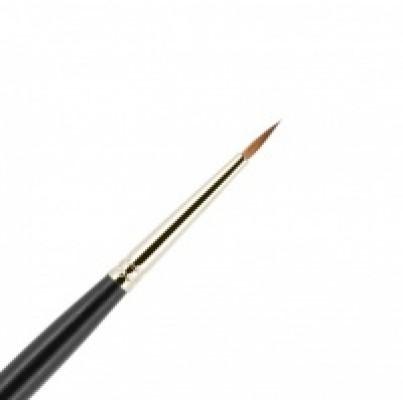 Кисть для подводки из волоса колонка №1-2 круглая 7мм VALERI-D: фото