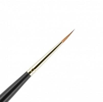 Кисть для подводки из волоса колонка №1-3 круглая 10мм VALERI-D: фото