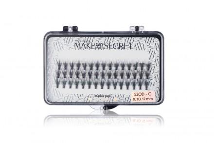 Пучки маленькие MAKE-UP-SECRET S20D-C (8,10, 12mm): фото