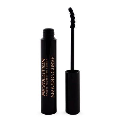 Тушь для ресниц Makeup Revolution Amazing Curve Mascara Black: фото
