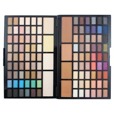 Палетка для макияжа глаз и контуринга Makeup Revolution Pro HD Palette Eyes and Contour: фото