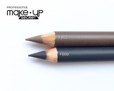Карандаш для бровей (Eyebrow Pencil) MAKE-UP-SECRET FB03: фото
