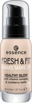 Тональная основа Essence Fresh & fit awake make-up 10 слоновая кость