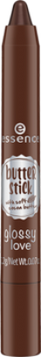 Губная помада в стике Essence Butter stick glossy love 05 коричневый