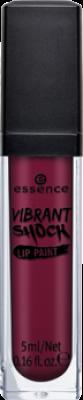 Губная помада Essence Vibrant shock lip paint 03 винно-красный: фото
