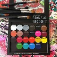 Тени минеральные 2гр. (Mineral Eyeshadow 2g.) MAKE-UP-SECRET MES10 Фиолетовый