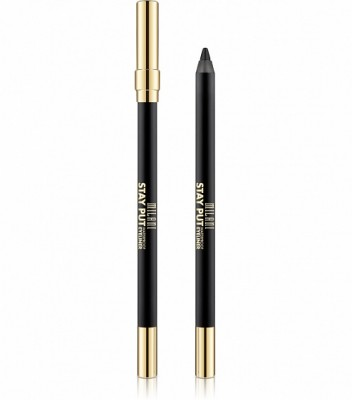 ВОДОСТОЙКИЙ КАРАНДАШ ДЛЯ ГЛАЗ Milani Cosmetics (STAY PUT WATERPROOF EYELINER PENCIL) 01 LINKED ON BLACK: фото