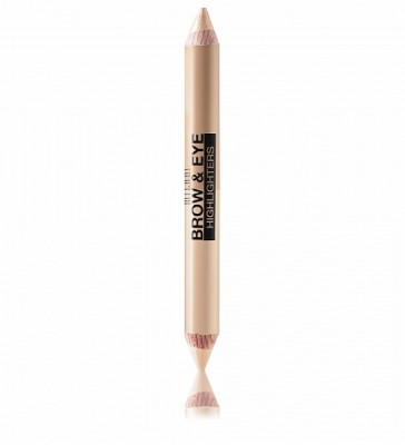 ДВУСТОРОННИЙ ХАЙЛАЙТЕР ДЛЯ ГЛАЗ И БРОВЕЙ Milani Cosmetics BROW & EYE HIGHLIGHTERS 01 MATTE BEIGE/HIGH GLOW: фото