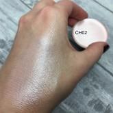 Кремовые румяна в рефилах Make up Secret (Cream Highlighter) CH02 Холодный жемчужно-розовый