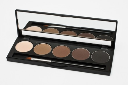 Палитра теней для бровей Make up Secret 5 оттенков (5 Brow Palette) BP-01: фото