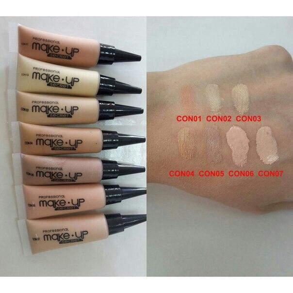 Консилер Make up Secret (Conсealer) Con07 Натуральный св.розовый: фото