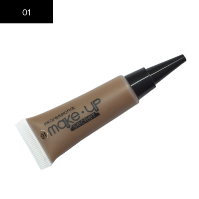 Подводка для бровей Make up Secret (Eyebrow Cream) EBC01 Светло-коричневый: фото