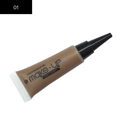 Подводка для бровей Make up Secret (Eyebrow Cream) EBC01 Светло-коричневый: фото