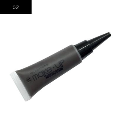 Подводка для бровей Make up Secret (Eyebrow Cream) EBC02 Темно-коричневый: фото