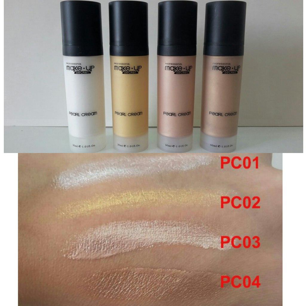 Крем тональный перламутровый Make up Secret (Pearl Cream) PC02 Золото: фото