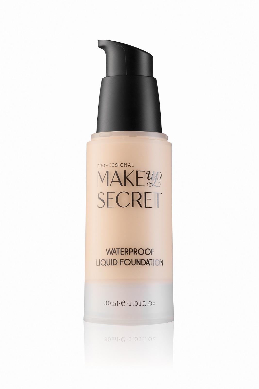 Крем тональный стойкий Make up Secret (Waterproof Liquid Foundation) LFW13 Натуральный бежевый: фото