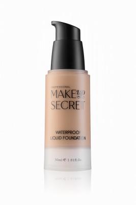 Крем тональный стойкий Make up Secret Waterproof Liquid Foundation LFW15 Тёмный натуральный бежевый MAKE-UP-SECRET
