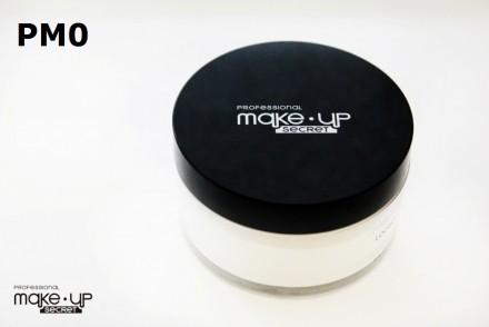 Пудра рассыпчатая матовая Make up Secret (Matt Loose Powder) PM0 - белый цвет (прозрачная): фото