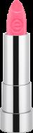 Губная помада Essence Sheer & shine prisma glow lipstick 19 ярко-розовый с блеском: фото
