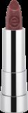 Губная помада Essence Sheer & shine prisma glow lipstick 18 красно-коричневый с блеском