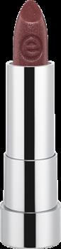 Губная помада Essence Sheer & shine prisma glow lipstick 18 красно-коричневый с блеском: фото