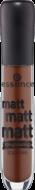 Блеск для губ Essence Matt matt matt lipgloss 09 шоколадный