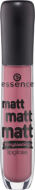 Блеск для губ Essence Matt matt matt lipgloss 06 розовато-лиловый